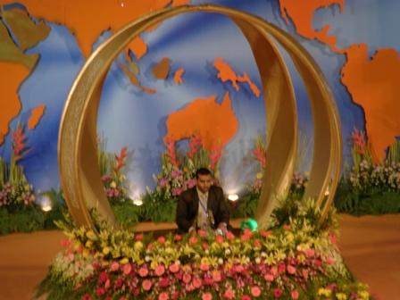 Johan Qari dari Negara Iraq sedang mempersembahkan bacaan