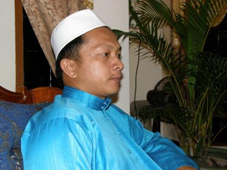 Ustaz Maarof turut hadir sama pada rumah terbuka Ustaz Lokman