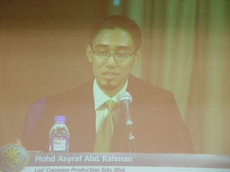 Mohd Asyraf Abdul Rahman empunya Syarikat Penerbitan Animasi UPIN dan IPIN