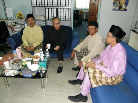 Tuan Haji Amr, Ustaz Baharudin, Tuan Haji Rumaling dan Ustaz Sakaria