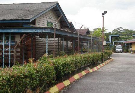 Barisan Blok Asrama Baitul Iman